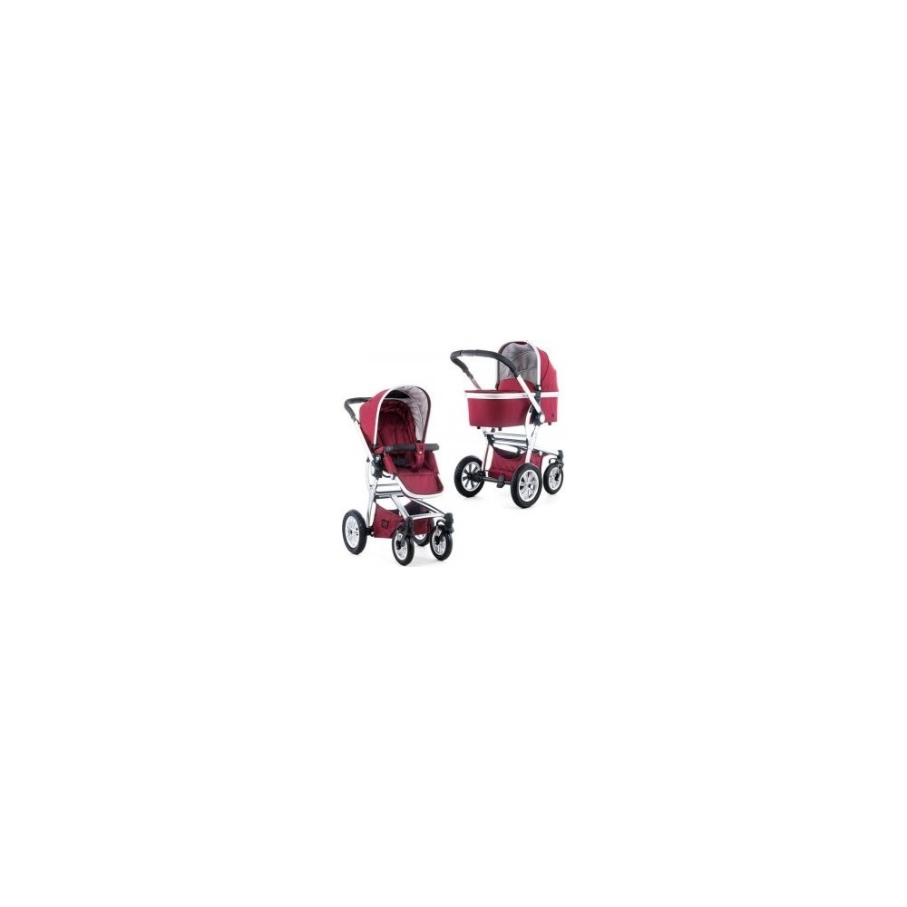 Baby stroller TREGG.RED.DENIM