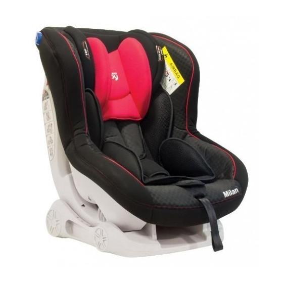 Κάθισμα Αυτοκινήτου MILAN 2 BLACK 0 έως 18 kg