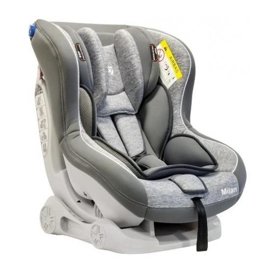 Κάθισμα Αυτοκινήτου MILAN 2 GREY 0 έως 18 kg