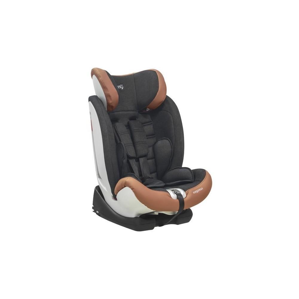 CAR SEAT MEGA MAX  Isofix 9-36 kg. BLACK&JEAN