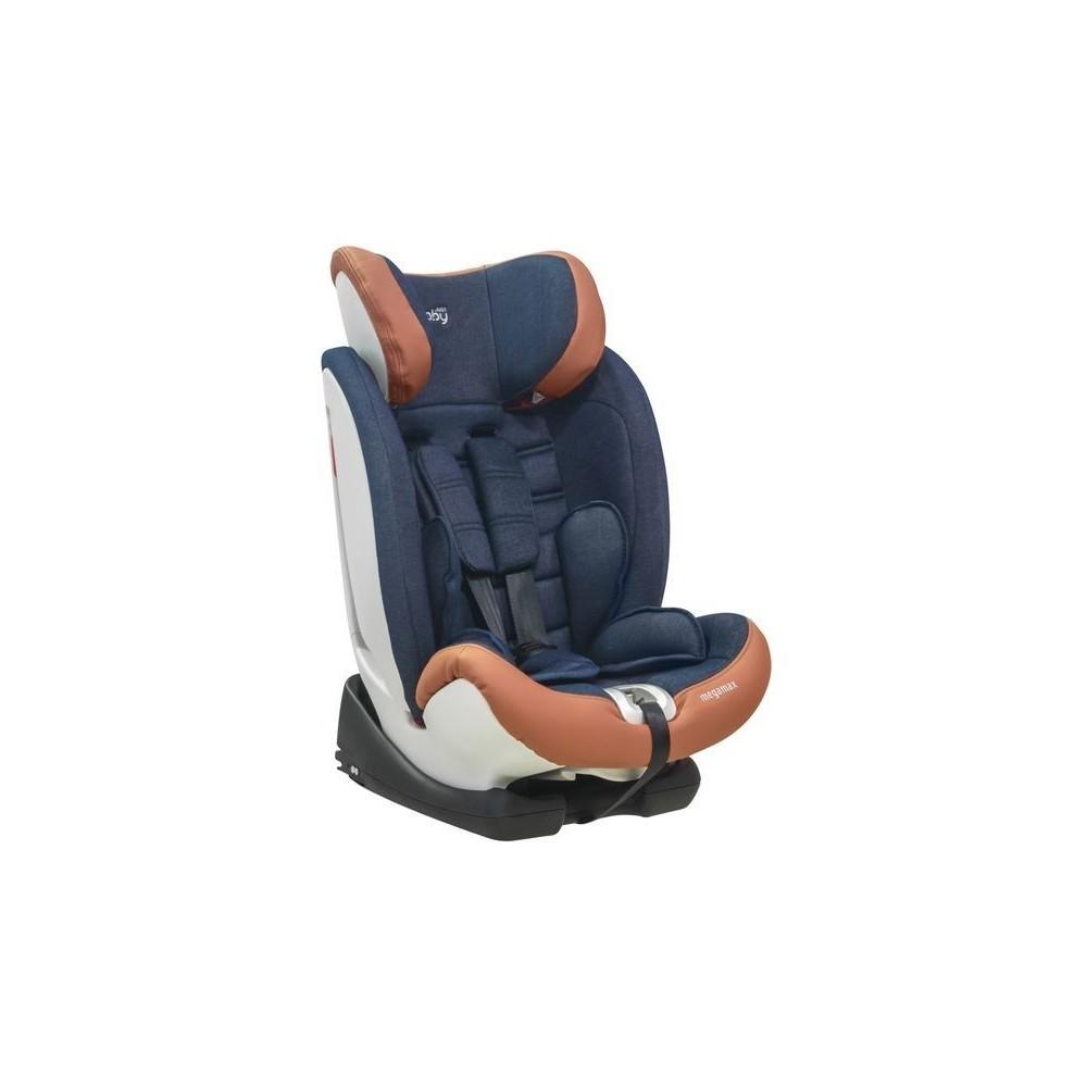 CAR SEAT MEGA MAX  Isofix 9-36 kg. BLUE &JEAN