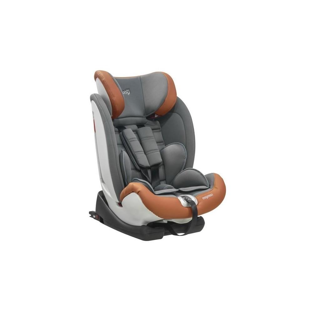 CAR SEAT MEGA MAX  Isofix 9-36 kg.GREY