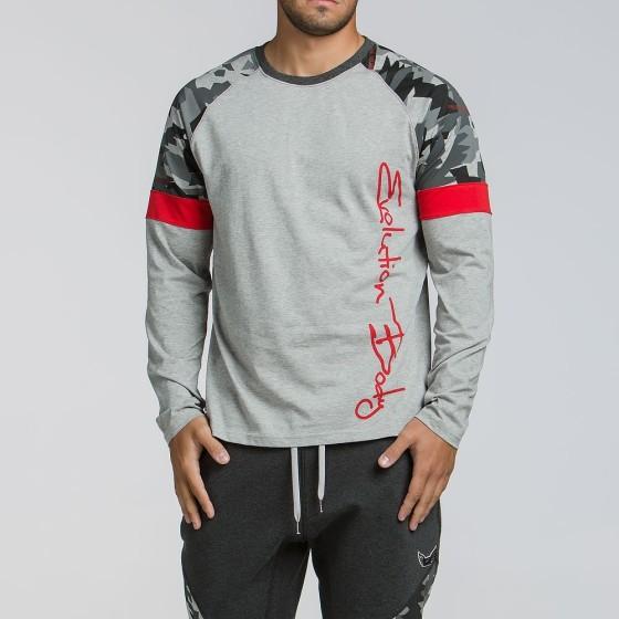 Ανδρική αθλητική μακρυμάνικη μπλούζα 2094