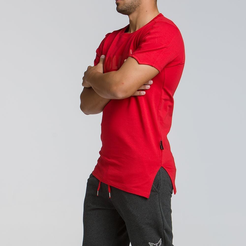 Ανδρικό ελαστικό t-shirt 2064RED