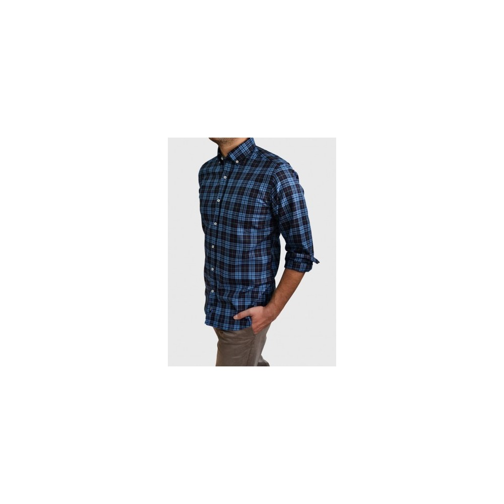 Checked shirt regular fit
