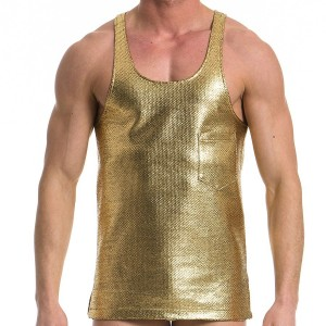 MEN'S TANKTOP GOLD 16732