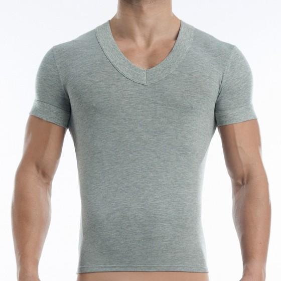 Ανδρικό (V) T-shirt γκρί 17041