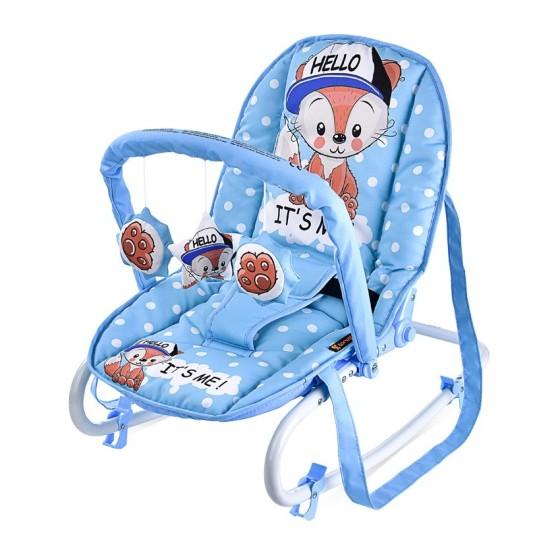 Βρεφικό Ρηλάξ TOP RELAX Blue Baby Fox