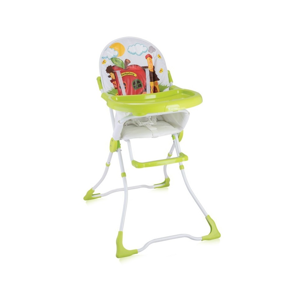 Feeding Chair CANDY Green Hedgehog