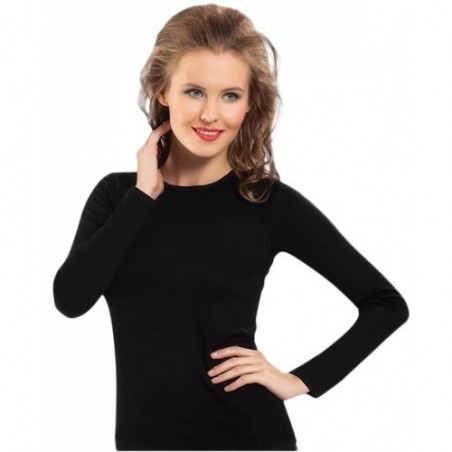 Woman isothermal blouse black 271