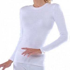 Γυναικείο ισοθερμικό εσώρουχο μπλουζάκι λευκό 271