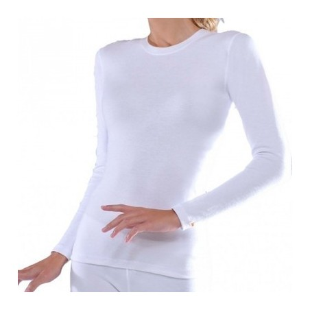 Woman isothermal blouse white 271