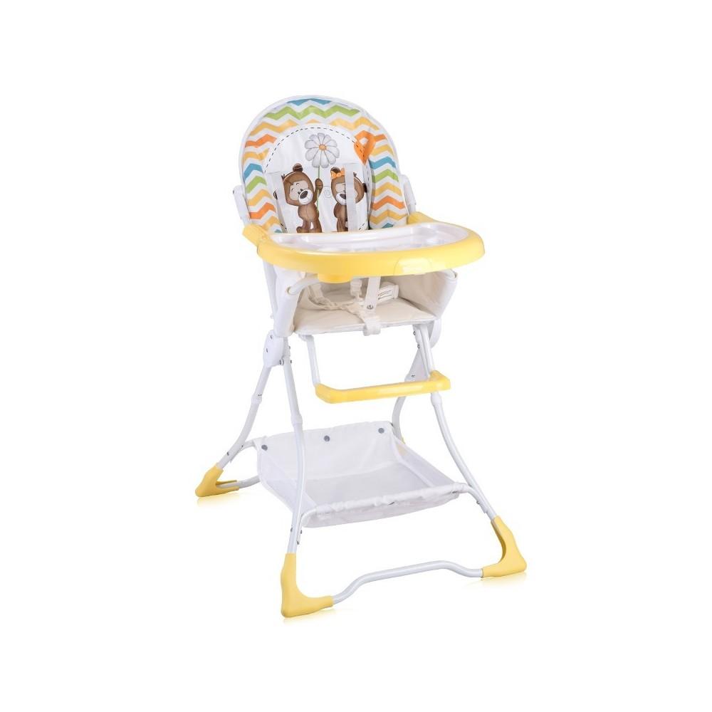 Feeding Chair BONBON Yellow Daisy Bears
