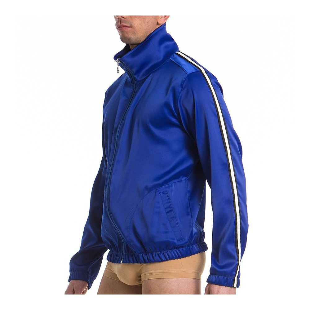 90's Men's Jacket Blue 13751