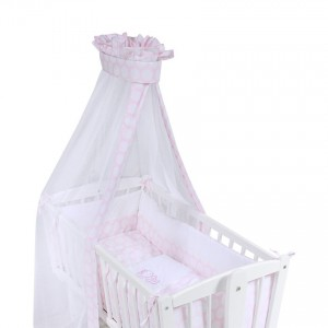 Set for Swing-Bed  Circles - Pink