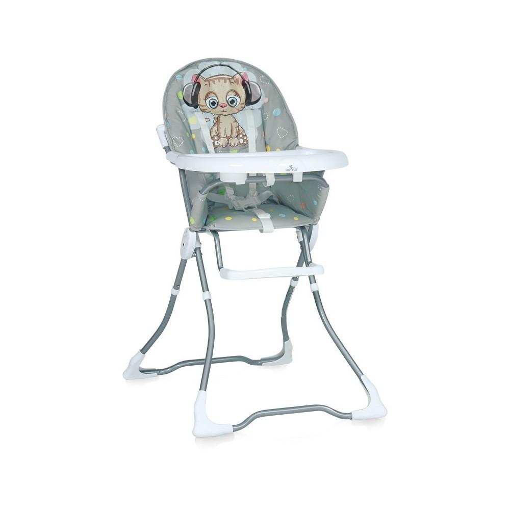 Feeding Chair MARCEL Grey Cute Kitten