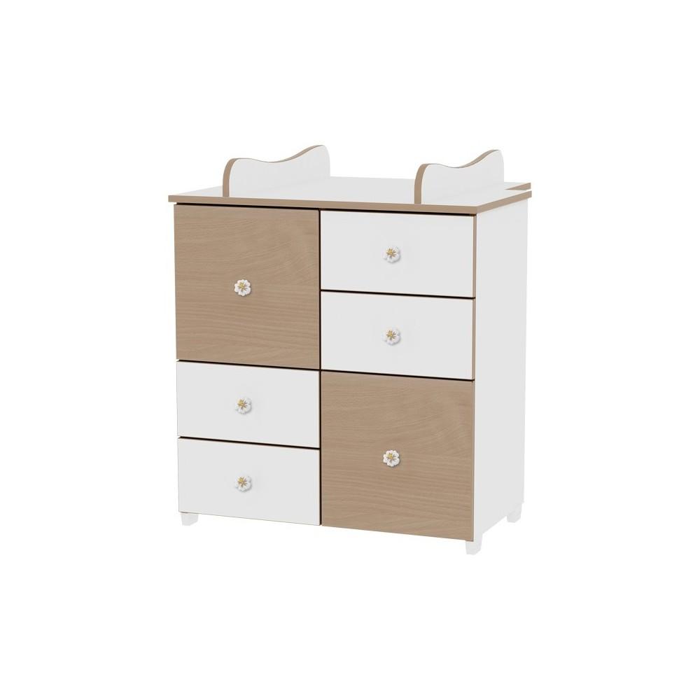 Cupboard White/Beech