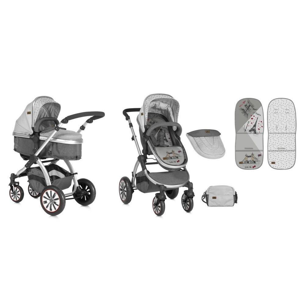 Baby stroller 2in1 Grey TRAVELLING