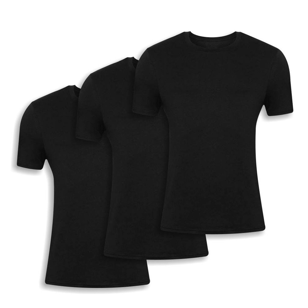 Men's t-shirt 3 Pack Black 19700-3pack