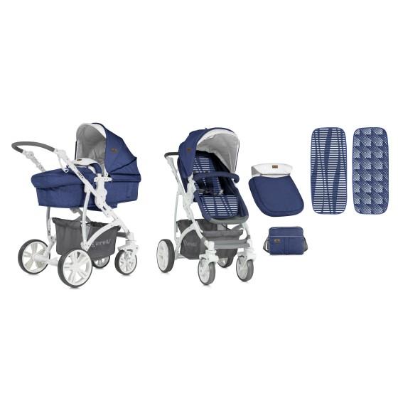 Combi Stroller  VISTA  2 in 1 Blue