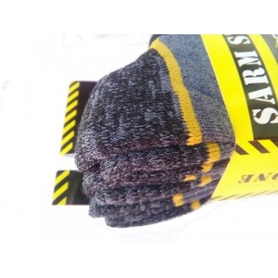 Ανδρικές κάλτσες εργασίας σε συσκευασία 3 τεμαχίων Μπλέ