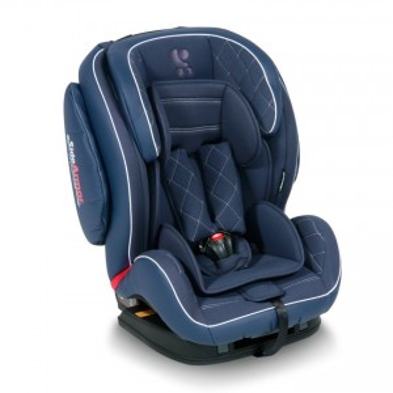 Car Seat MARS+SPS Isofix Dark Blue Leather