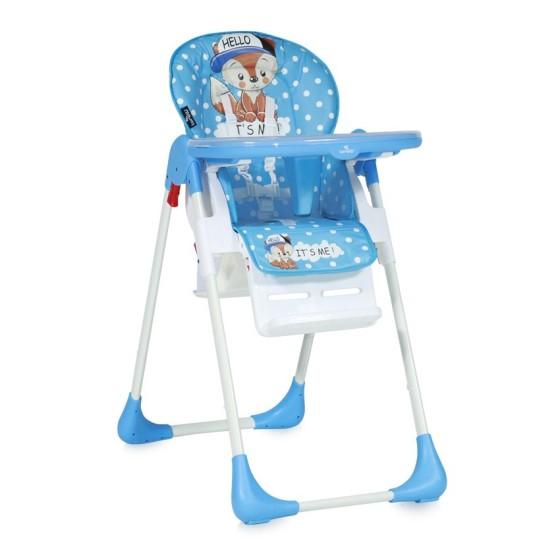 Παιδικό καρεκλάκι φαγητού TUTTI FRUTTI Blue Baby Fox