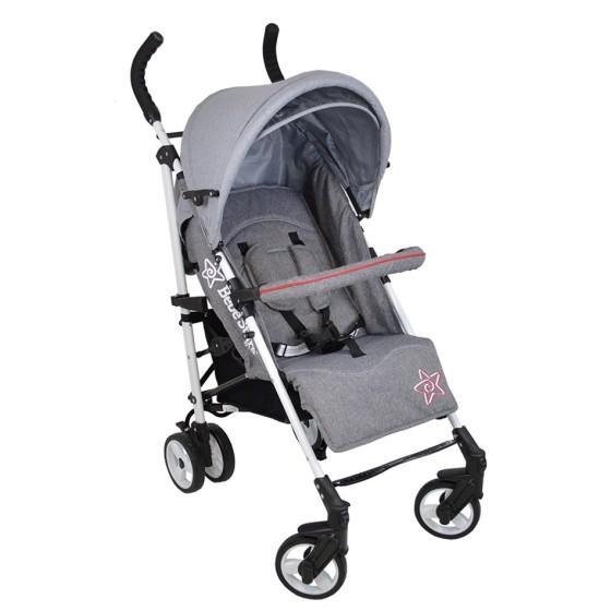 Baby Stroller Adam Grey