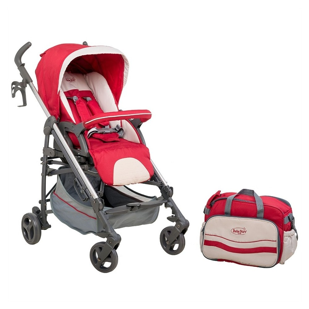 Baby stroller&Mama bag Gabi Red