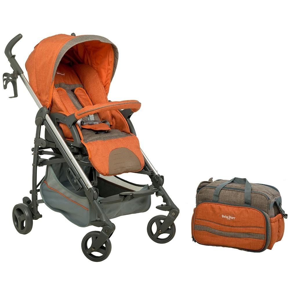 Παιδικό Καρότσι Gabi &Brown 320-182 με Αναστρέψιμη θέση και τσάντα