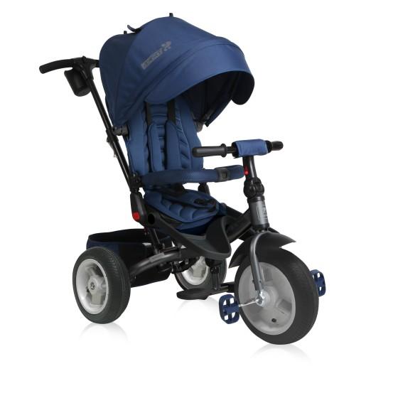 Παιδικό Τρίκυκλο Ποδήλατο JAGUAR Air Wheels  Blue&Grey