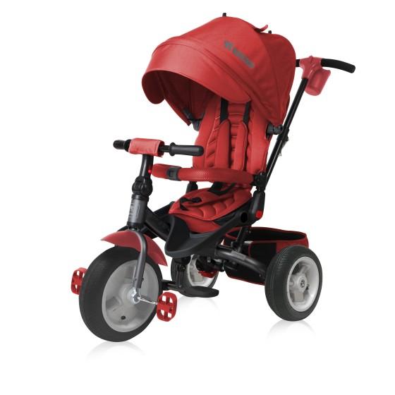 Children's Tricycle  JAGUAR Air Wheels Red