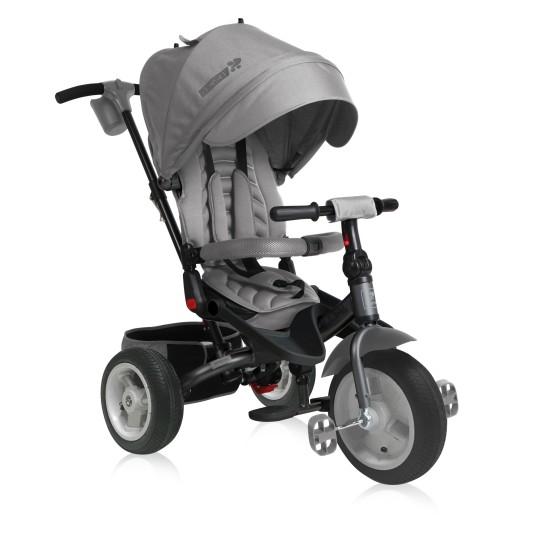 Παιδικό Τρίκυκλο Ποδήλατο JAGUAR Air Wheels Grey
