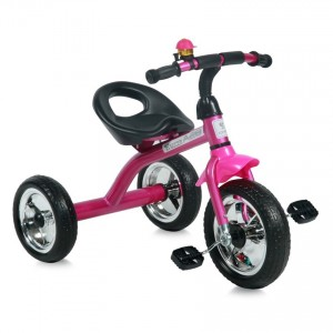 Children's Tricycle A28 Pink&Black