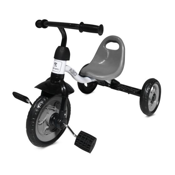 Παιδικό Τρίκυκλο Ποδήλατο A30 Grey&White