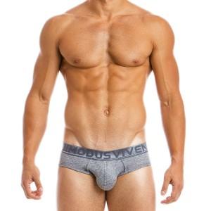 MEN'S MOHAIR CLASSIC BRIEF 03713_grey