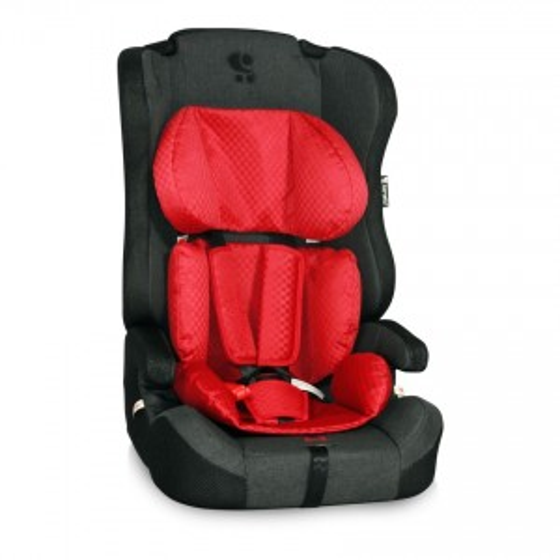Children's Car Seat MURATO Isofix 9-36 kg.Red&Black