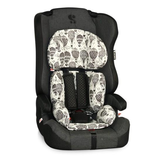 Children's Car Seat  MURATO Isofix 9-36 kg.Black Balloons
