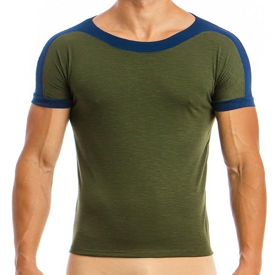 Men's T-shirt 01841_khaki