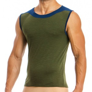 Men's Sleeveless 01831_khaki