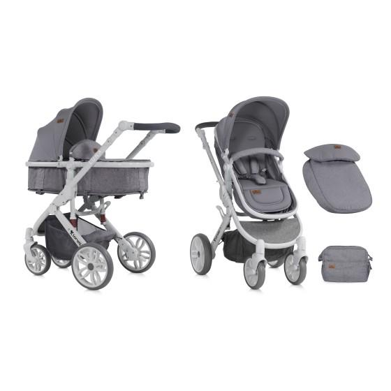 Baby Stroller Combi LUNA  2 ιν 1  Grey