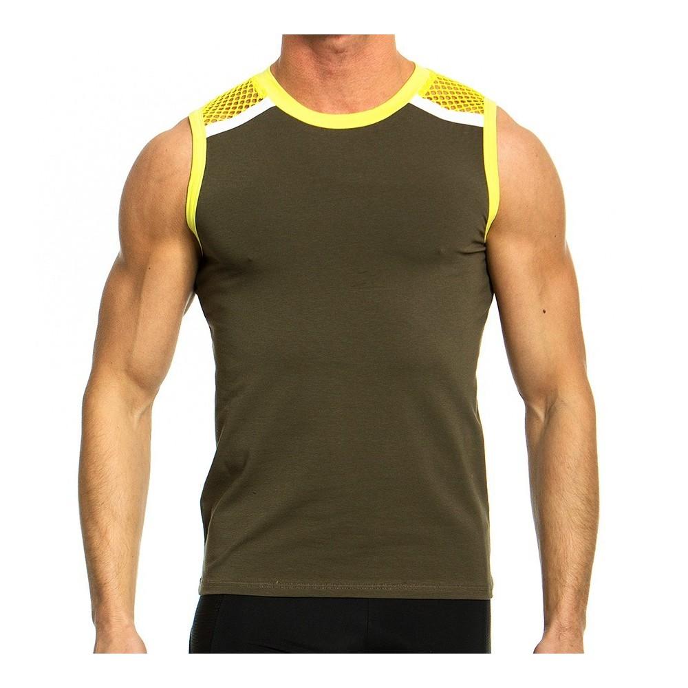 Men's Sleeveless 05831_yellow