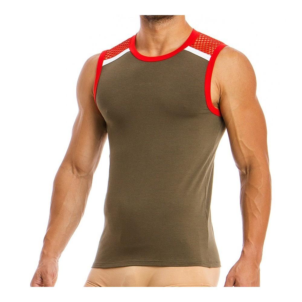 Men's Sleeveless 05831_khaki