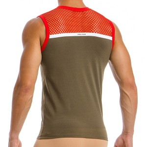 Men's Sleeveless 05831_khaki