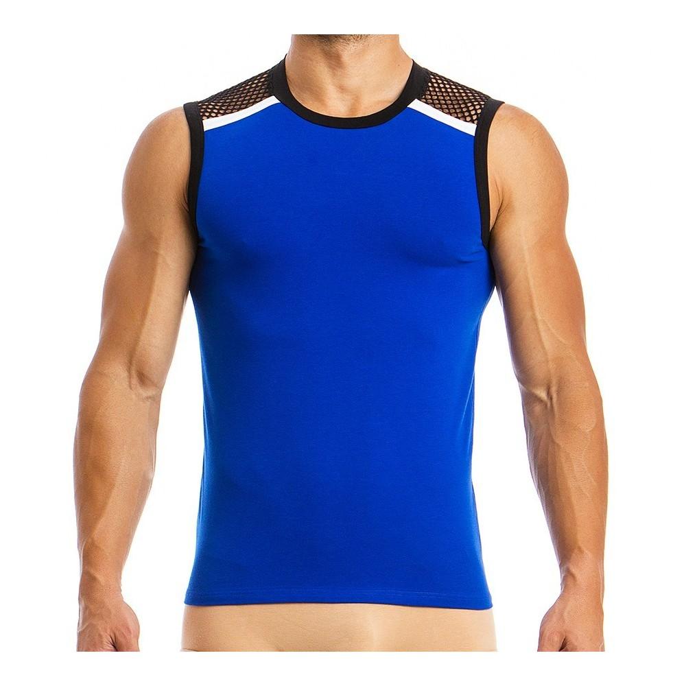 Ανδρικό φανελάκι αμάνικο 05831 blue 063e0118f00