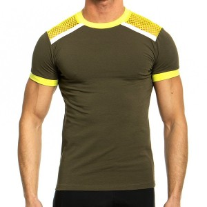 Men's T-shirt 05841_yellow