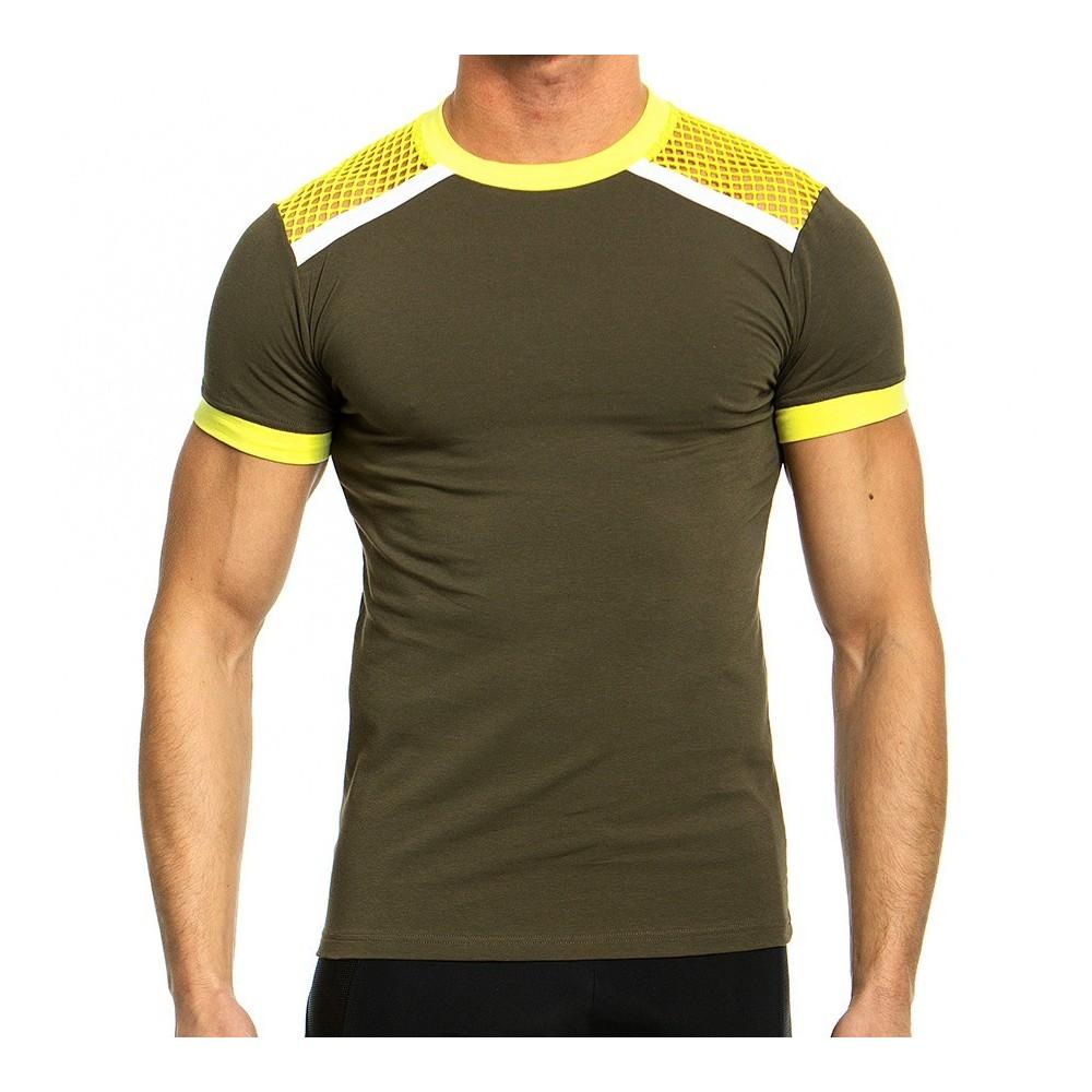 Men's T-shirt 05841_yellow