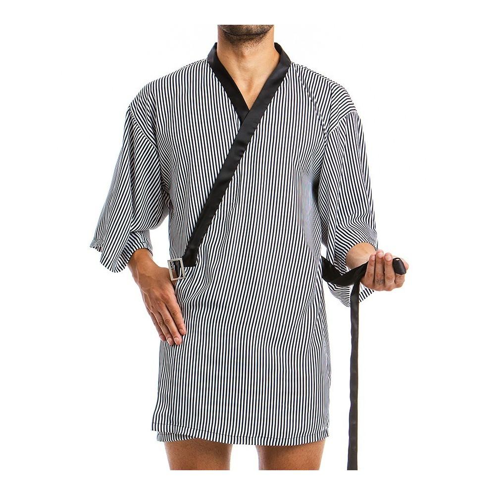 Men's Kimono 06851_black