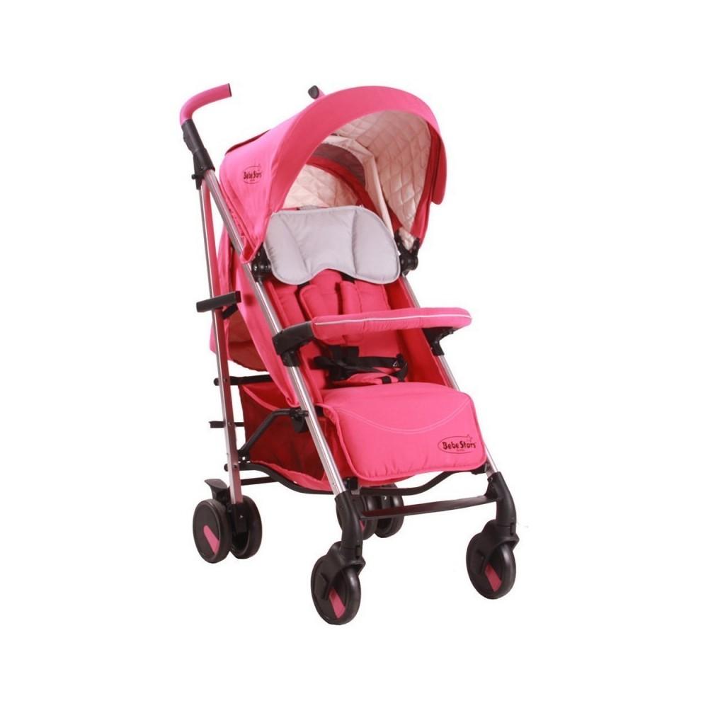 Παιδικό Καρότσι Μπαστούνι Αλουμινίου Mito 182-185 Pink