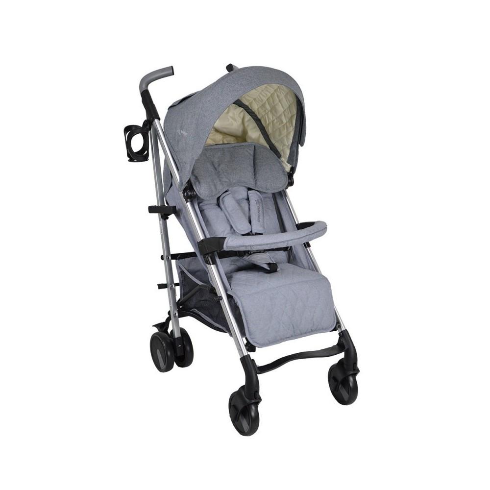 Παιδικό Καρότσι Μπαστούνι Αλουμινίου Mito Grey 182-186